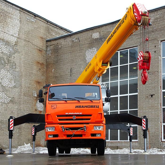 Автокраны Ивановец - выбор строительных компаний в сегменте малоэтажного строительства