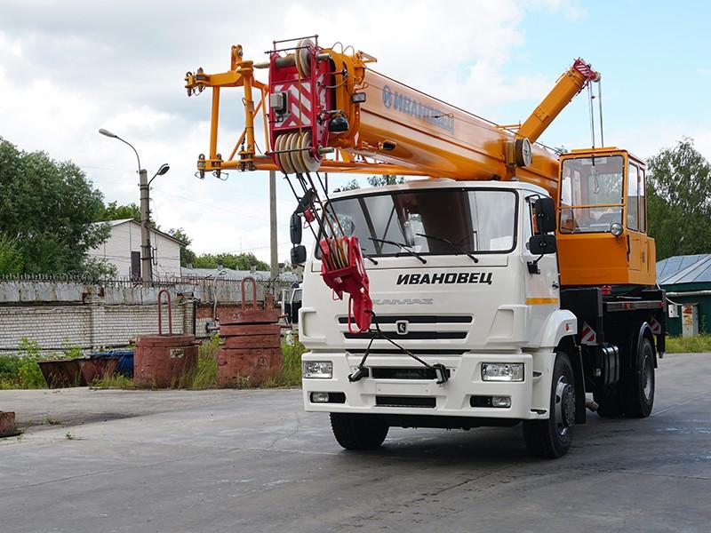 Купить Автокран Ивановец КС-35714К-3, заказать Автокран Ивановец КС-35714К-3