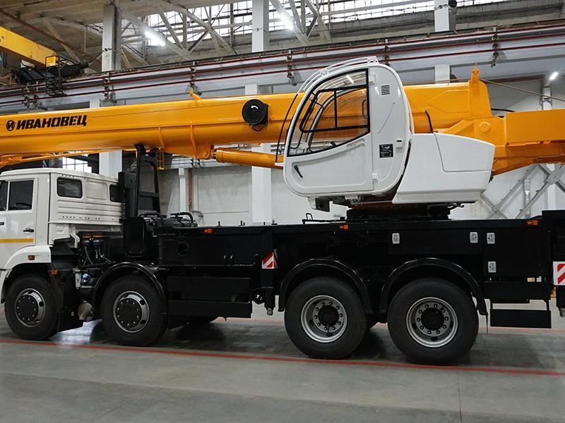 Купить Автокран Ивановец КС-55717К-1, заказать Автокран Ивановец КС-55717К-1