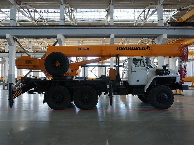 Купить Автокран Ивановец КС-35714, заказать Автокран Ивановец КС-35714