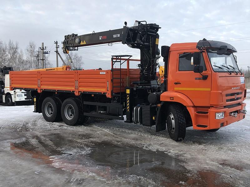 КМУ HIAB 160 КАМАЗ 65115