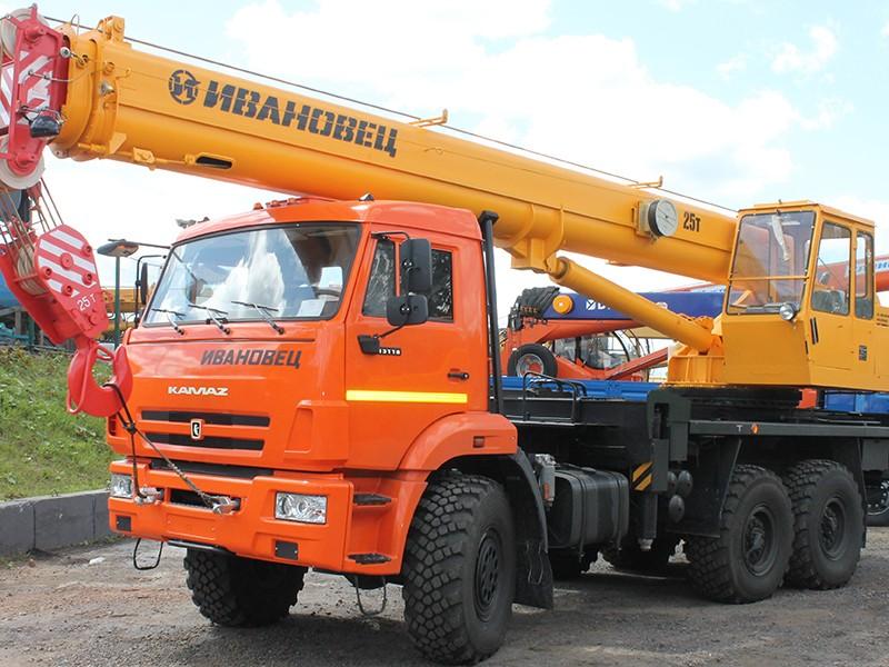 Автокран Ивановец КС-35714К-2