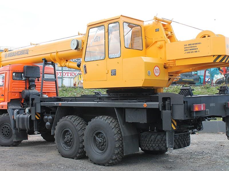 Купить Автокран Ивановец КС-35714К-2, заказать Автокран Ивановец КС-35714К-2