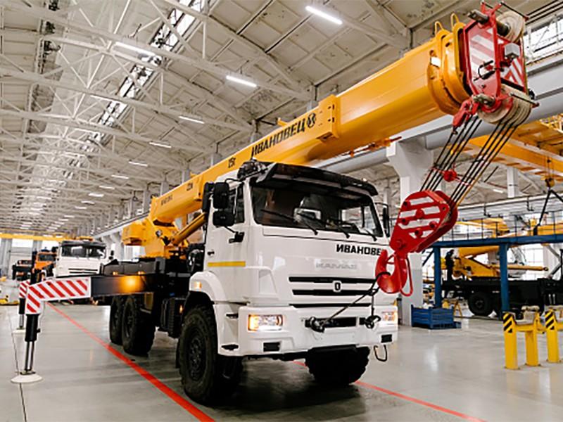 Купить Автокран Ивановец КС-45717К-3М (стрела 22 м), заказать Автокран Ивановец КС-45717К-3М (стрела 22 м)