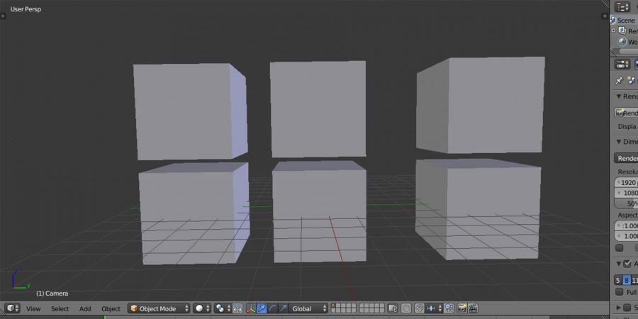 Горячие клавиши в Blender3D