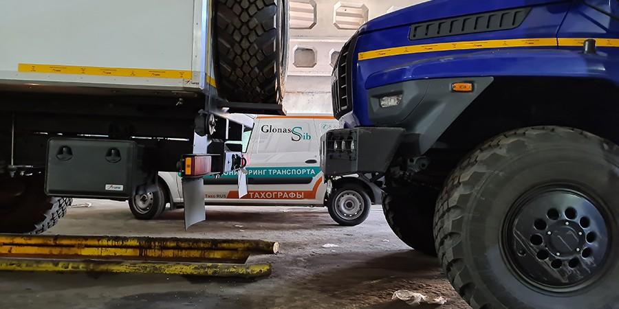 Повышение безопасности производственных процессов  вместе с ГЛОНАСС-Сибирь