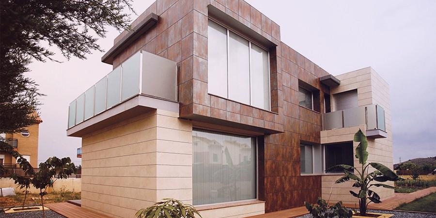 Отделка фасада современными материалами